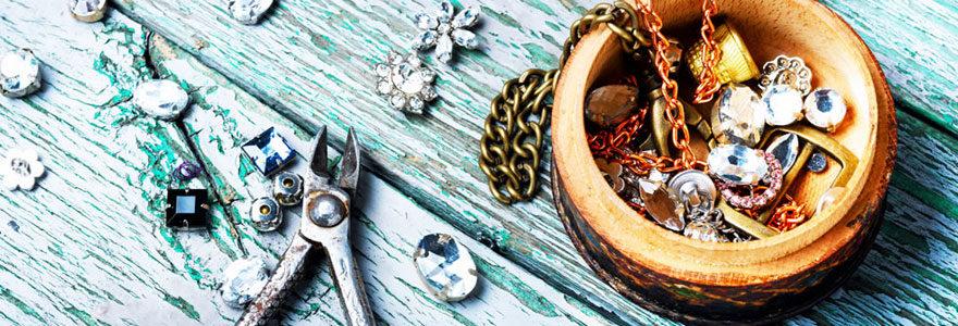 Bijoux fabriqués à la main