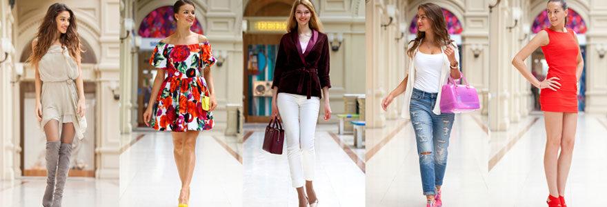 vêtements de mode